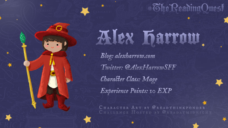 #TheReadingQuest Character Card